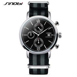 007 ジェームズ・ボンドモデル クォーツ腕時計 ナイロンストラップ