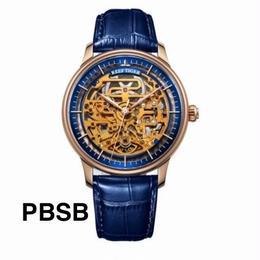 REEF TIGER 自動巻き 機械式腕時計 スケルトン カラバリ12色 RGA1975