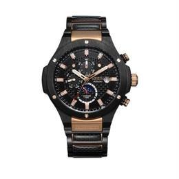 NESUN 自動巻き 機械式腕時計 メンズ サファイアクリスタル ルミナスハンズ カラバリ3色 ステンレス