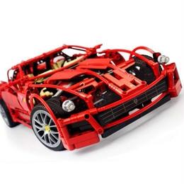レゴ(LEGO)互換 フェラーリ 599 GTB 8145相当 ブロックおもちゃ