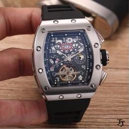 リシャール・ミル風 自動巻 機械式腕時計 サファイアクリスタル  AAA +