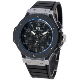PAULAREIS 自動巻き 機械式腕時計 メンズ 48mm ラバーストラップ カラバリ3色