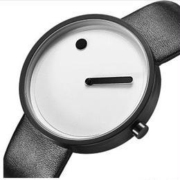 GEEKTHINK メンズ クォーツ腕時計 日本製ムーブ搭載 シンプルモダンデザイン