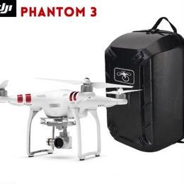 DJI Phantom 3 Standard ハードシェルケース付き 2.7 kHDカメラ gpsシステム ライブビュー