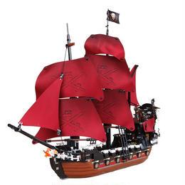 レゴ互換 パイレーツオブカリビアン アン女王の復讐号 4195相当 ブロックおもちゃ1151ピース