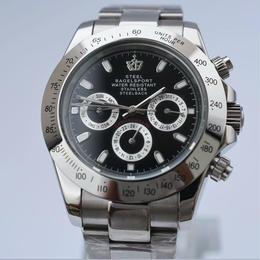 SteelBagelsport 自動巻き 機械式腕時計 ステンレス 40mm A03-1