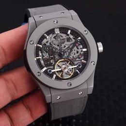 メンズ腕時計 自動巻 機械式 サファイアクリスタル 43mm