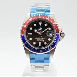 SteelBagelsport 自動巻き 機械式腕時計 ステンレス 41mm  A11-1