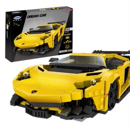 レゴ(LEGO)互換 ランボルギーニ アヴェンタドール風 mocテクニックシリーズ ブロックキットXingbao 03008