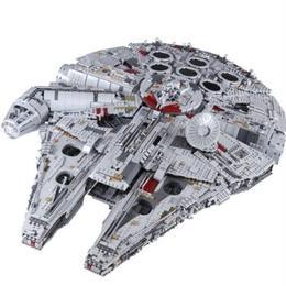 レゴ(LEGO)互換 スターウォーズ ミレニアム・ファルコン 75192相当 8445ピース ブロックおもちゃ 教育おもちゃ