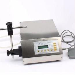 小型液体充填機 ボトル充填機 LCDディスプレイ 110V USプラグ ペダルスイッチ付き
