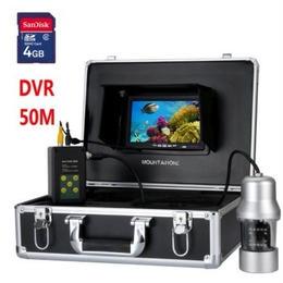 魚群探知機 Gamwater HD CCD水中釣りカメラ 0~360度ビュー  フィッシング 7インチ液晶モニター ホワイトライト×14 50mケーブル