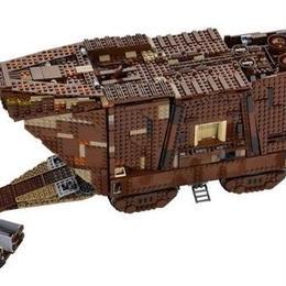 レゴ(LEGO)互換 スターウォーズ サンドクローラー 75059相当