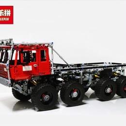 LEPIN レゴ互換 レッカー車 トラック 23012 テクニックシリーズ ブロックおもちゃ 2839ピース