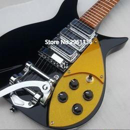 リッケンバッカー風エレキギター  325 スリーピックアップ 34インチ  専用ハードケース付き