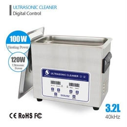 超音波洗浄器 大容量 3.2L 業務用 デジタル 40khz