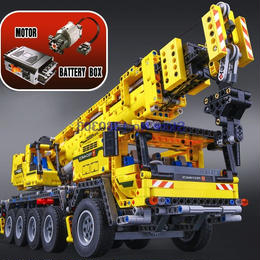 LEPIN レゴ互換 テクニック モービル・クレーンMK II 42009相当 ブロックおもちゃ