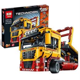 レゴ(LEGO)互換 フラットベッド・トラック 8109相当 テクニック LEPIN