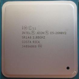 インテル intel xeonプロセッサ e5 2680 v2 cpu E52680 v2 2.8 lga 2011 SR1A6テンコアサーバープロセッサe5-2680 v2 E5-2680V2