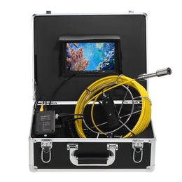 Lixada 20M 排水管・下水道検査カメラ LCDモニター 12 LEDナイトヴィジョン IP68 工業用内視鏡