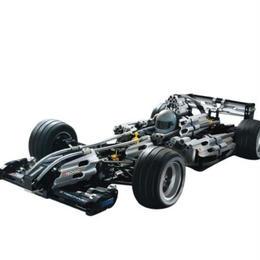 レゴ互換 F1レースカー シルバーチャンピオン 8458相当 ブロックおもちゃ