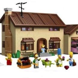 レゴ(LEGO)互換 ザ・シンプソンズハウス 71006相当