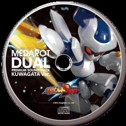 【数量限定再販:6月末発送】メダロットDUAL プレミアムサウンドトラック KUWAGATA Ver.