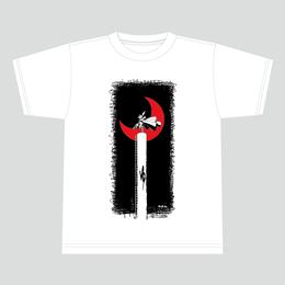 【数量限定再販:6月末発送】メダロットTシャツ_ロクショウ01_ホワイト