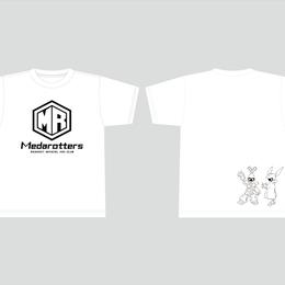 【数量限定再販:6月末発送】メダロッターズTシャツ_ホワイト