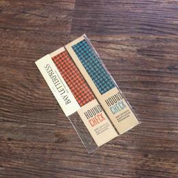 千鳥格子のブックマーク