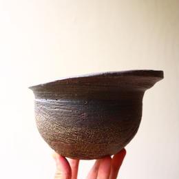 安西桂 〝土の子″ 鉢   no.035