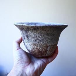 安西桂 〝土の子″ 鉢   no.111814