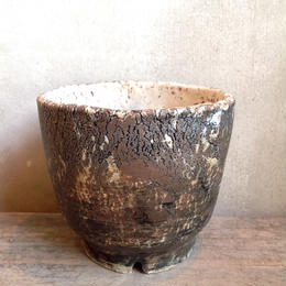 Pot  by  Wood   no.29  S  φ10cm  タイポット