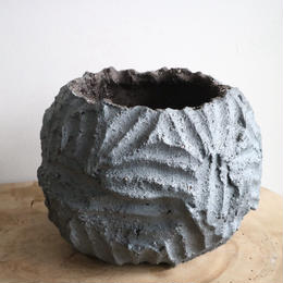 NEOSHIHO   no.015   礫  植木鉢 L    φ16cm