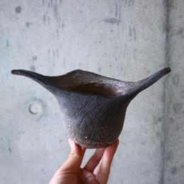 安西桂 〝土の子″ 鉢   no.004