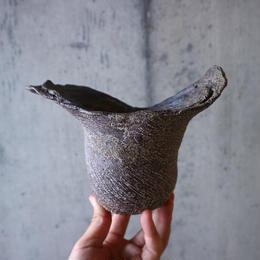 安西桂 〝土の子″ 鉢   no.011