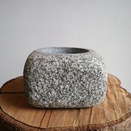 ノム爺の石鉢     no.015 φ14cm