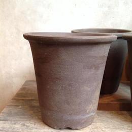 丹波鉢  デッドストック 茶  φ12.5cm
