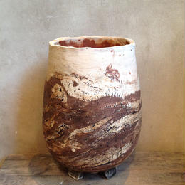 Pot  by  Wood   no.13  L φ13cm  タイポット