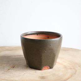 NEOSHIHO   no.009  ノコギリ植木鉢     φ8cm