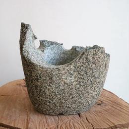 ノム爺の石鉢     no.011 φ13cm