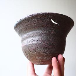 安西桂 〝土の子″ 鉢   no.030