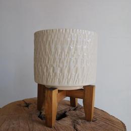 信楽焼 φ13cm  ホワイト
