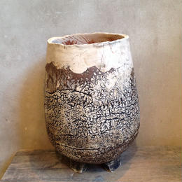 Pot  by  Wood   no.14   L  φ13cm  タイポット