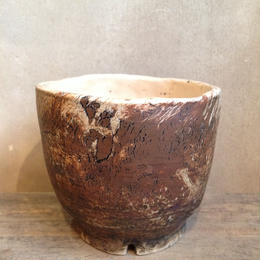 Pot  by  Wood   no.17  S  φ10cm  タイポット