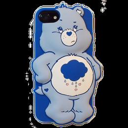 Care bears シリコンケース グランピーベア♥for  iPhone8/7/6s/6