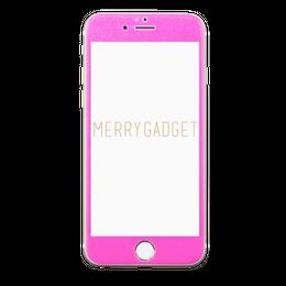 9Hガラスフィルム NEONPINK for iPhone6s/6専用♡MERRYGADGET