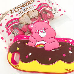 Care bears シリコンケース ドーナツ♥for iPhone8/7/6s/6
