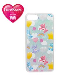 ViVi × Carebears iPhone8/7/6s/6 ラメ入りケース ブルー