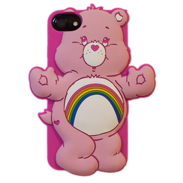 Care bears シリコンケース チアベア♥for iPhone8/7/6s/6